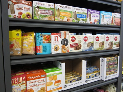 Gluten-free crackers and organic cookies in Kingston
