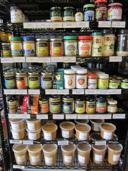 organic peanut butter and peanut-free spreads at Sigrids Natural Foods