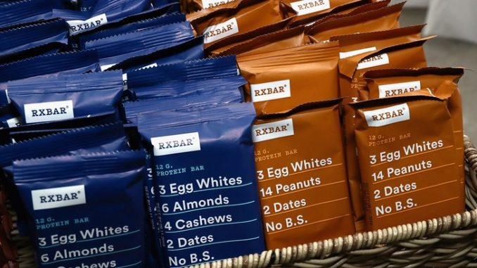natural protein bars and snacks