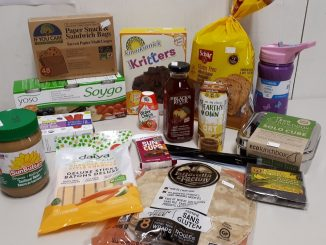 Back to school products at Sigrid's natural foods in kingston