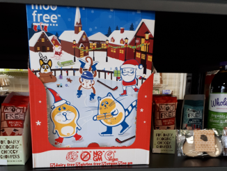 dairy free advent calendar in kingston