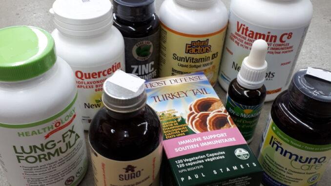 Immune boosting supplements at Sigrid's