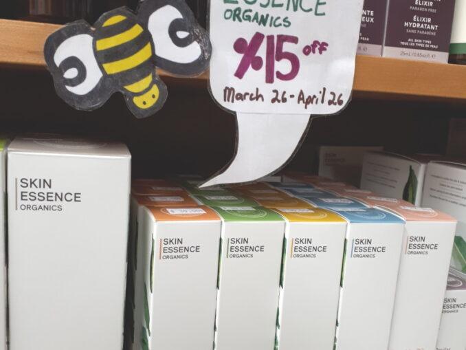 Skin Essence at Sigrid's Natural Foods in Kingston