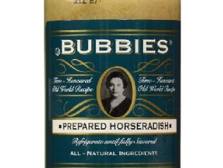 Bubbies horseradish at Sigrids