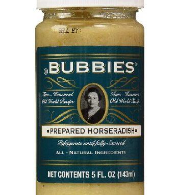 Bubbies horseradish at Sigrids