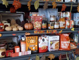 Pumpkin treats at Sigrid's Natural Foods in Kingston